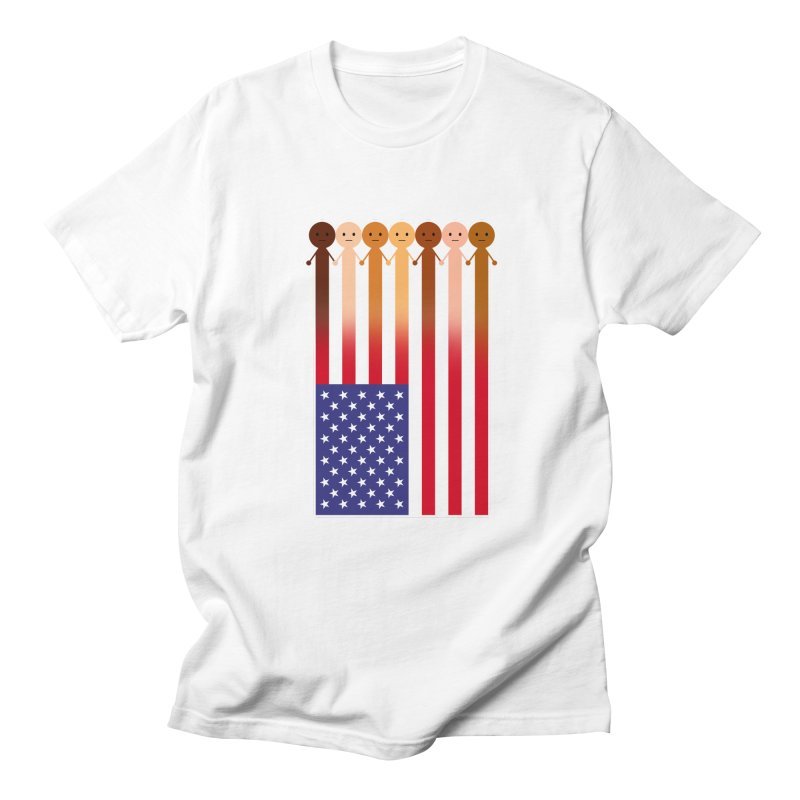 WE THE PEOPLE Men's Regular T-Shirt by an idle robot