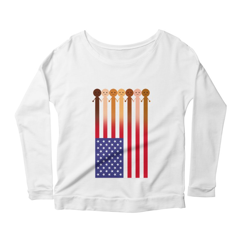 WE THE PEOPLE Women's Longsleeve T-Shirt by an idle robot