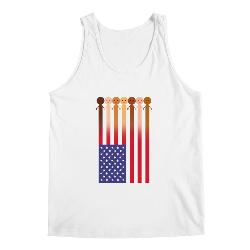 WE THE PEOPLE Men's Regular Tank by an idle robot