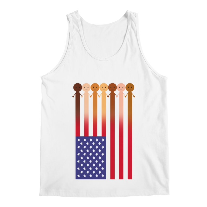 WE THE PEOPLE Men's Tank by an idle robot
