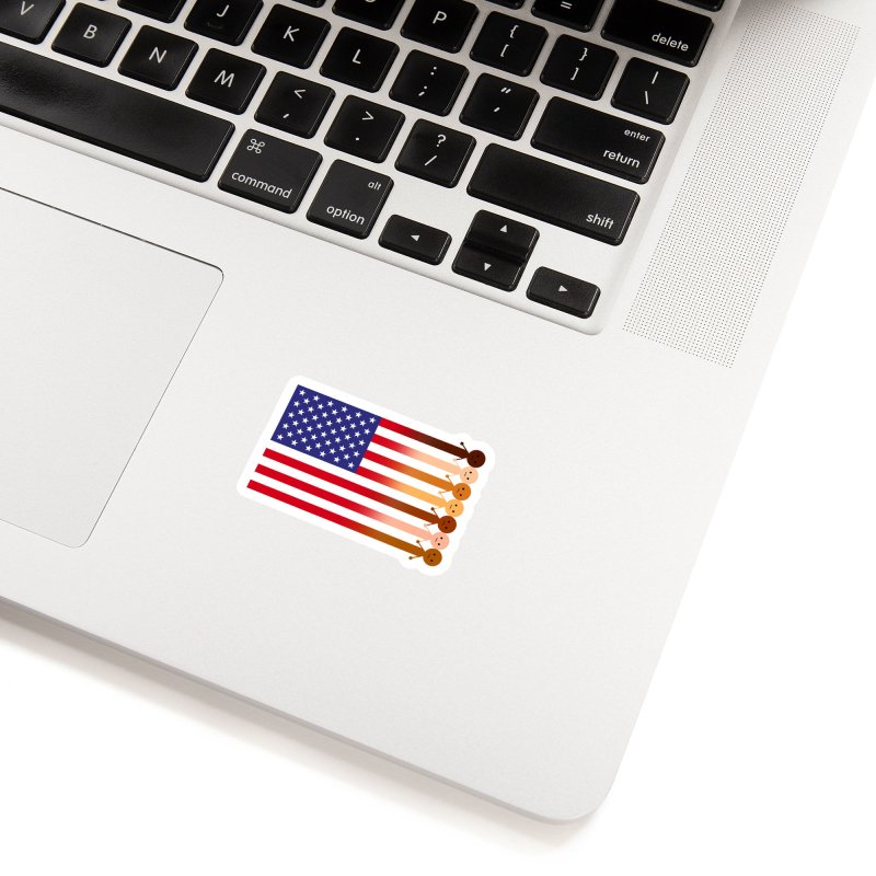 WE THE PEOPLE Accessories Sticker by an idle robot