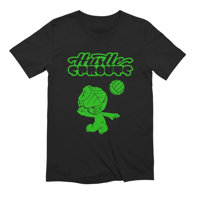 HUSTLE SPROUTS Men's Extra Soft T-Shirt by an idle robot