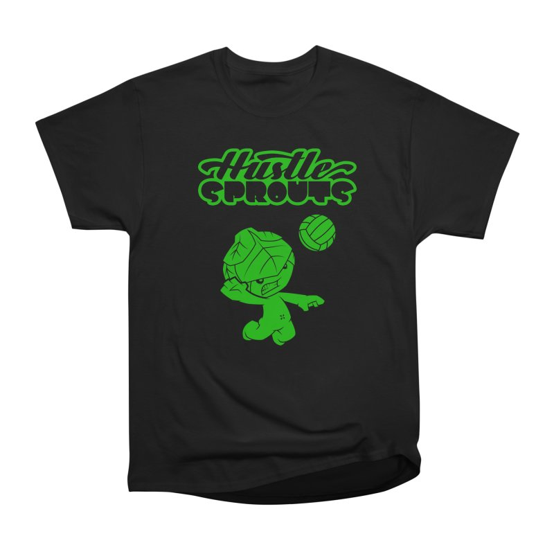 HUSTLE SPROUTS Women's Heavyweight Unisex T-Shirt by an idle robot