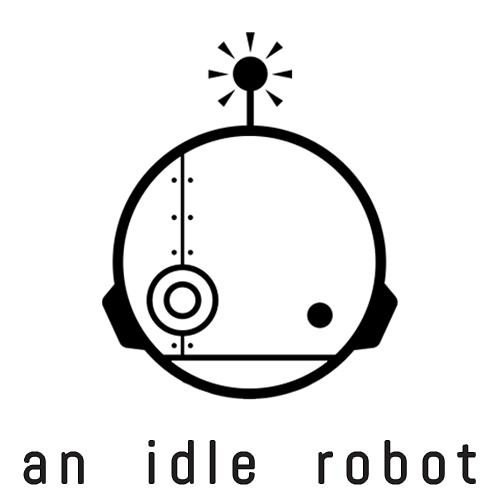an idle robot Logo