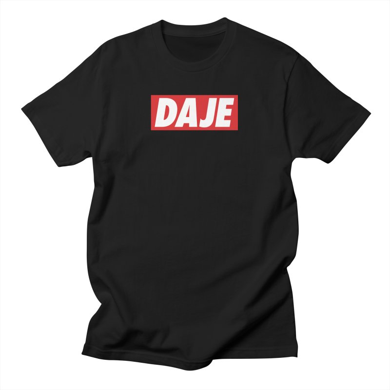 DAJE (red label) Men's T-Shirt by Animalanima