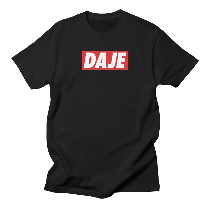DAJE (red label) Men's T-Shirt by Animalanima
