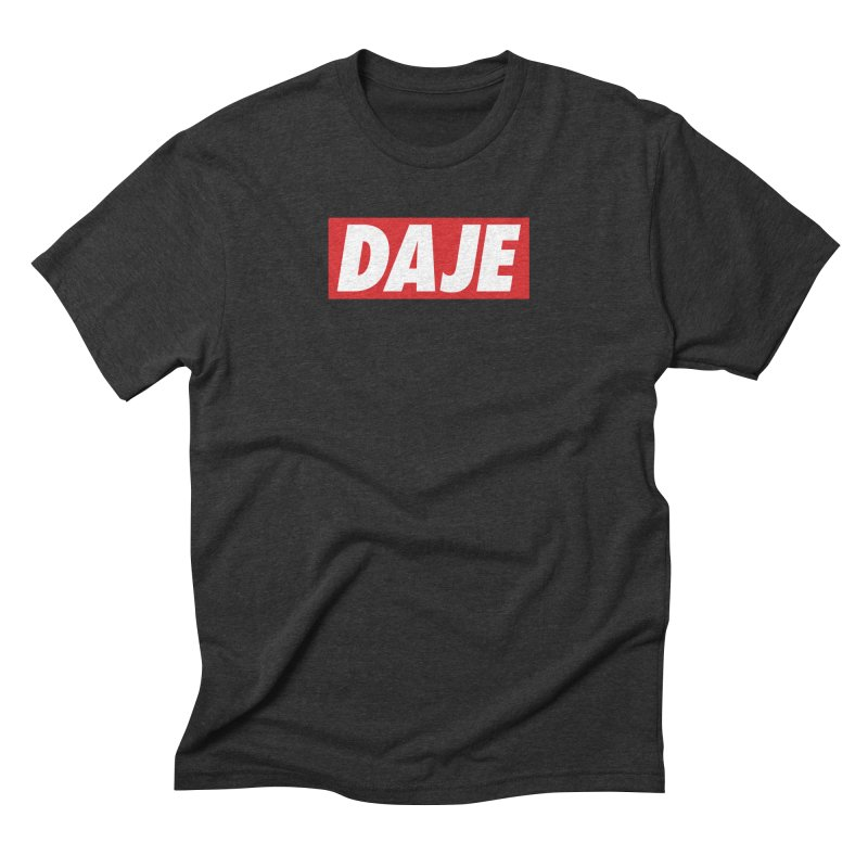 DAJE (RED) Men's Triblend T-Shirt by Animalanima Shop