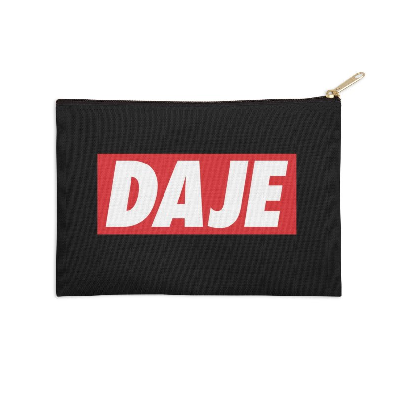 DAJE (RED) Accessories Zip Pouch by Animalanima Shop