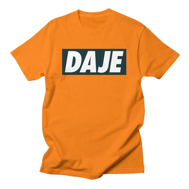 DAJE (black label) Men's T-Shirt by Animalanima