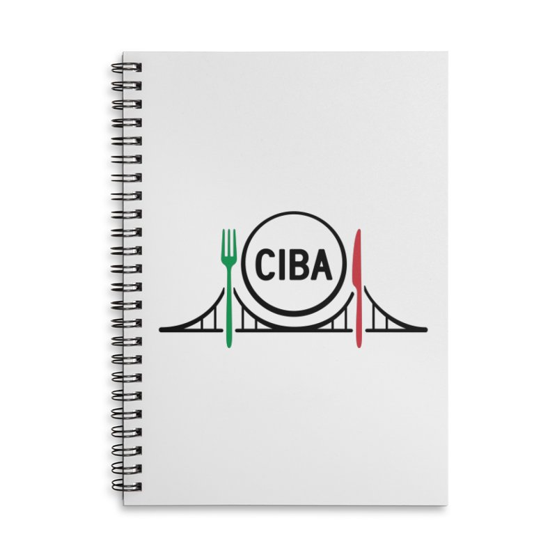 CIBA Accessories Lined Spiral Notebook by Animalanima Shop