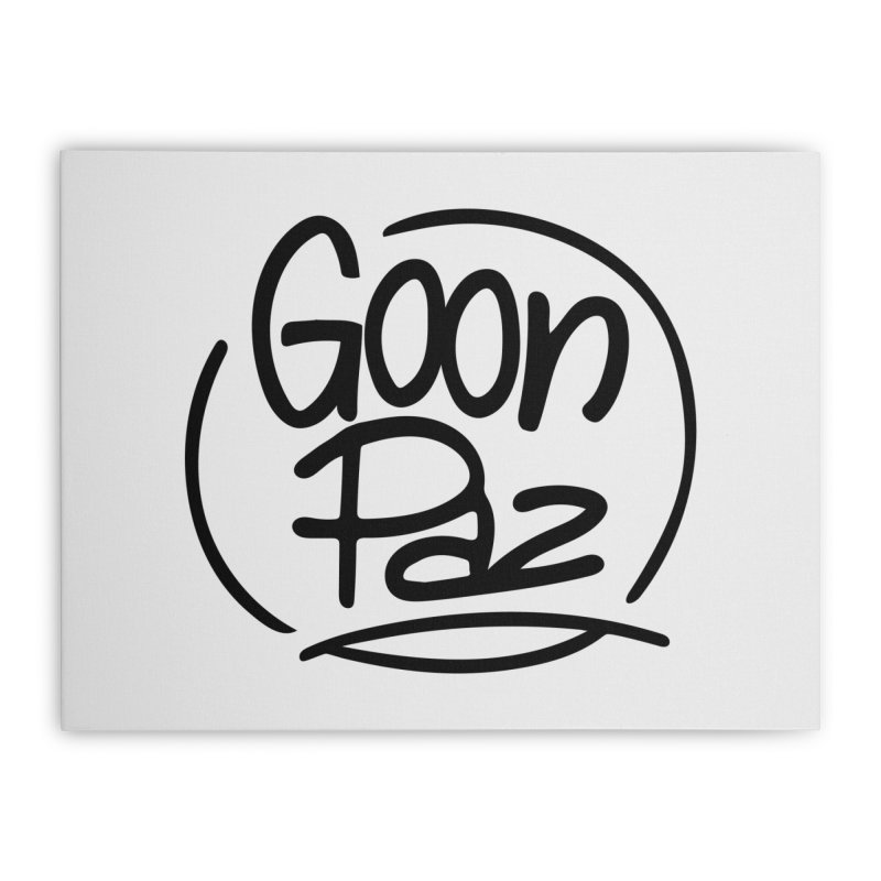 Goonpaz Merch Home Stretched Canvas by Animalanima Shop