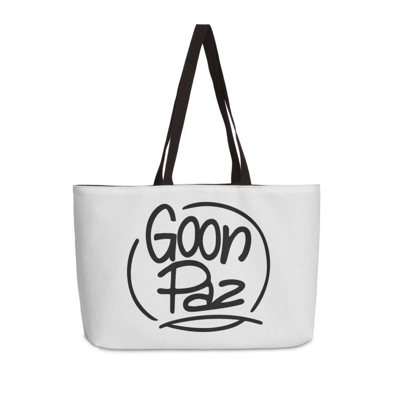 Goonpaz Merch Accessories Weekender Bag Bag by Animalanima Shop