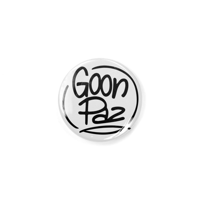 Goonpaz Merch Accessories Button by Animalanima Shop