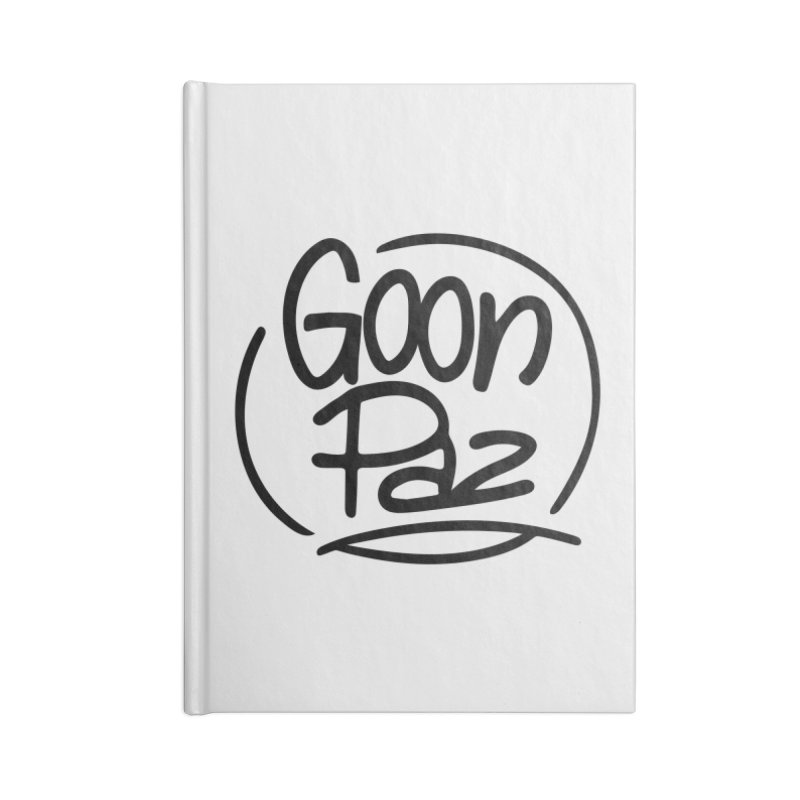 Goonpaz Merch Accessories Lined Journal Notebook by Animalanima Shop