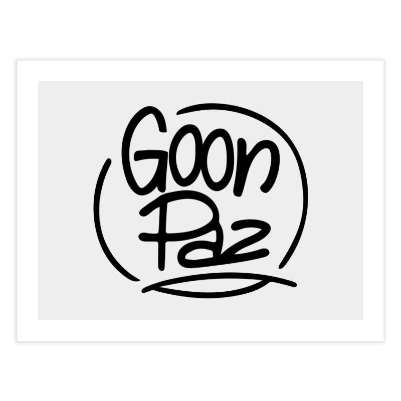 Goonpaz Merch Home Fine Art Print by Animalanima Shop