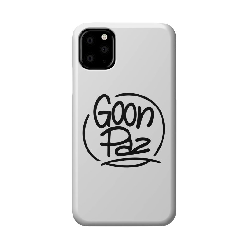 Goonpaz Merch Accessories Phone Case by Animalanima Shop
