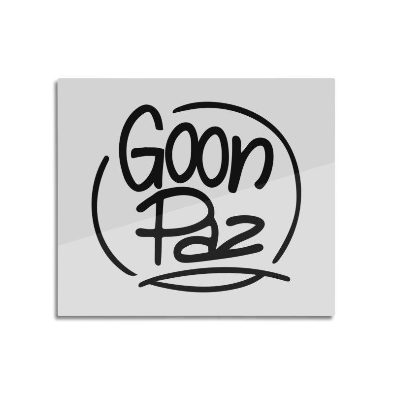 Goonpaz Merch Home Mounted Acrylic Print by Animalanima Shop
