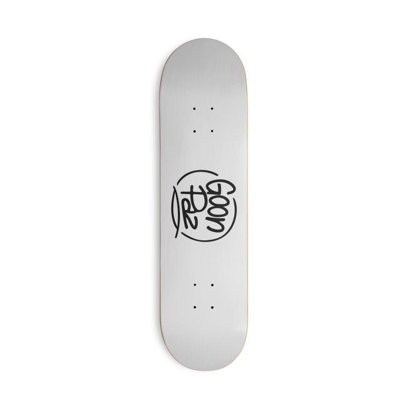 Goonpaz Merch Accessories Deck Only Skateboard by Animalanima Shop