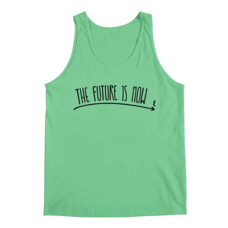 The Future is Now Men's Regular Tank by Animalanima Shop
