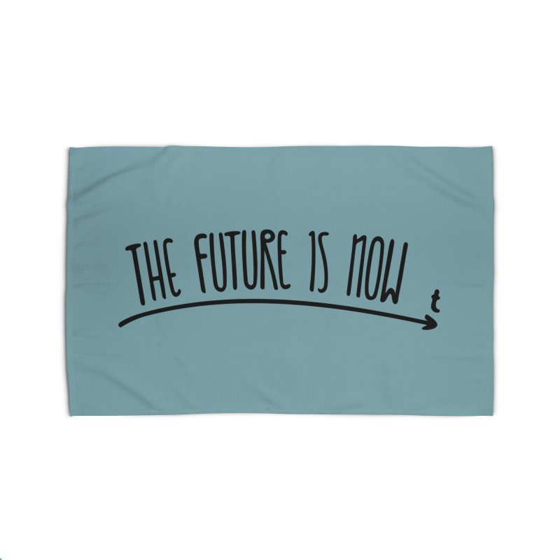 The Future is Now Home Rug by Animalanima Shop