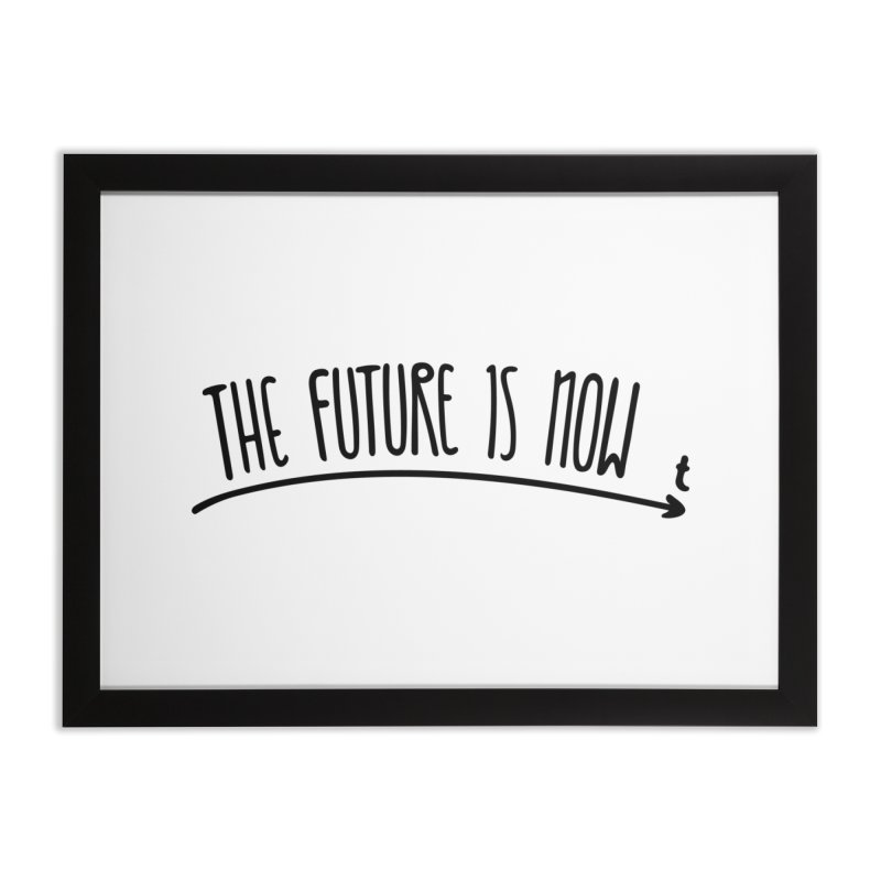 The Future is Now Home Framed Fine Art Print by Animalanima