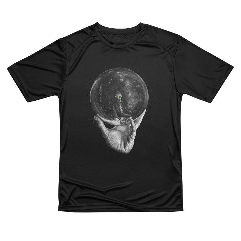When Escher watched interstellar (swag edition) Men's T-Shirt by Animalanima