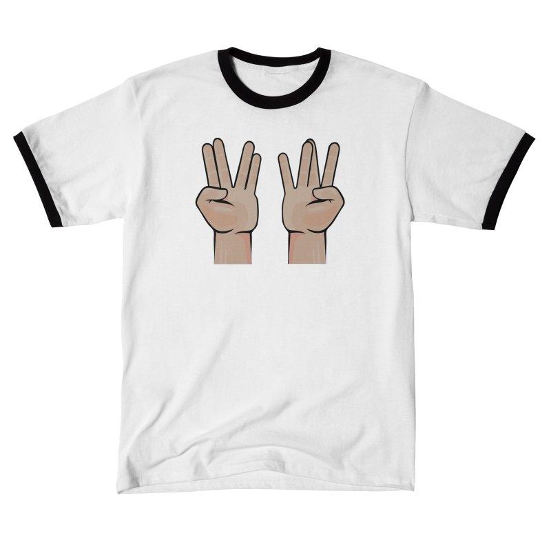 Live Prosper on the Wesside Men's T-Shirt by Animalanima