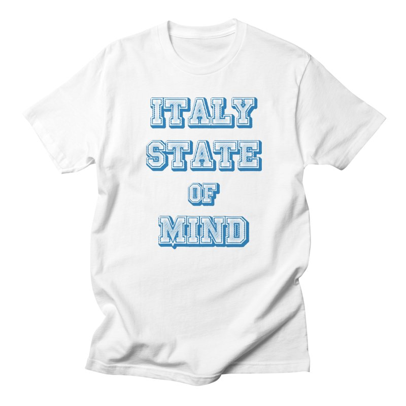ITALY STATE OF MIND Men's T-Shirt by Animalanima