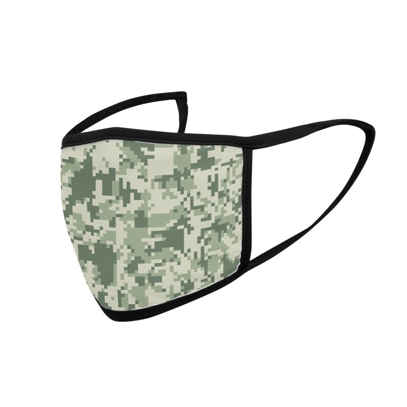 Face Camouflage Accessories Face Mask by Animalanima