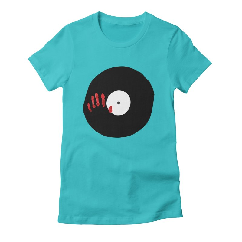 Fingerz Women's Fitted T-Shirt by Animalanima Shop