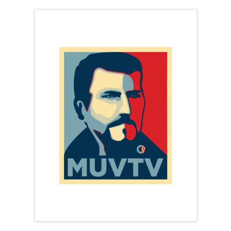 #MUVTV - Carrarmato Home Fine Art Print by Animalanima Shop