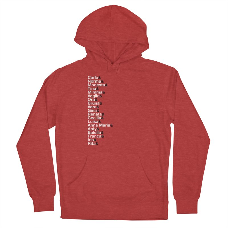 Donne della Resistenza Women's French Terry Pullover Hoody by Animalanima Shop