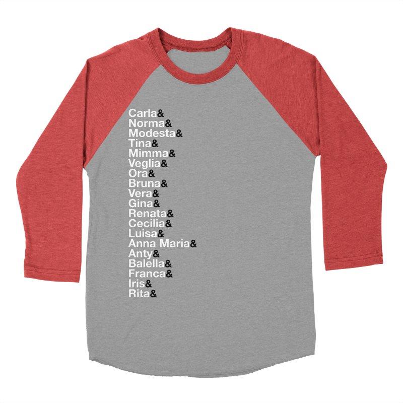 Donne della Resistenza Men's Baseball Triblend Longsleeve T-Shirt by Animalanima Shop