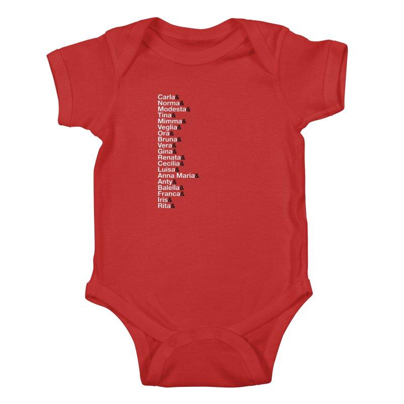 Donne della Resistenza Kids Baby Bodysuit by Animalanima Shop