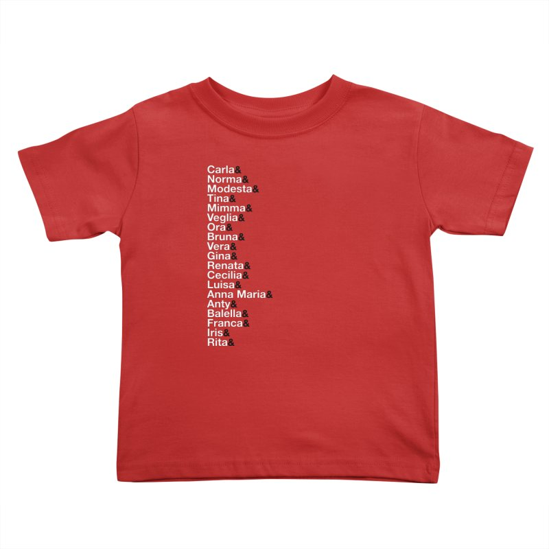 Donne della Resistenza Kids Toddler T-Shirt by Animalanima Shop