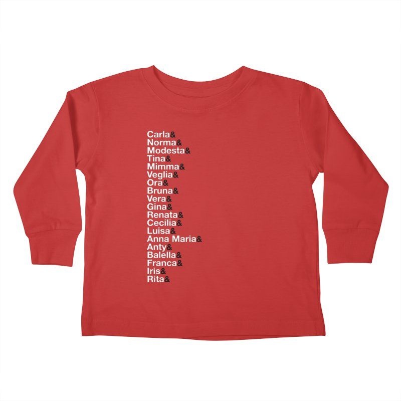 Donne della Resistenza Kids Toddler Longsleeve T-Shirt by Animalanima Shop