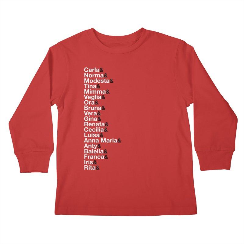 Donne della Resistenza Kids Longsleeve T-Shirt by Animalanima Shop