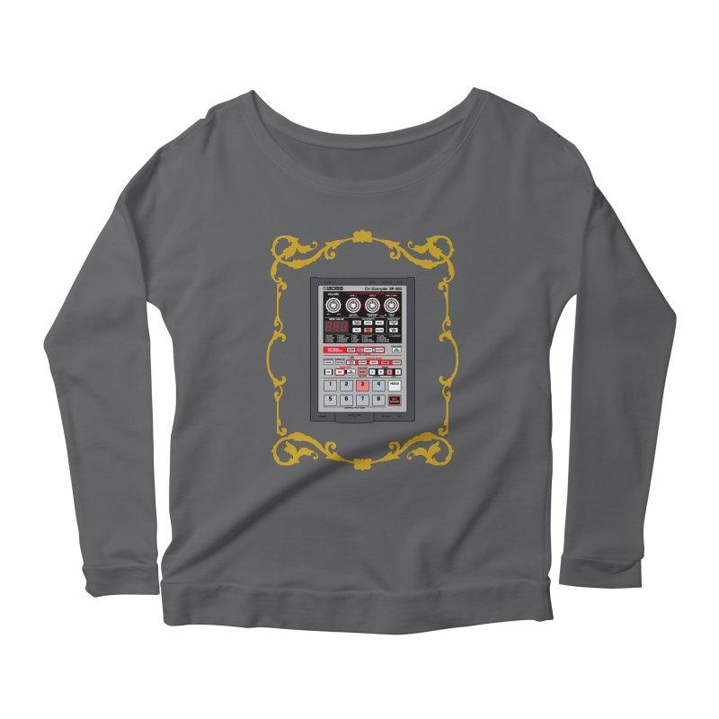 SP303 Women's Scoop Neck Longsleeve T-Shirt by Animalanima Shop