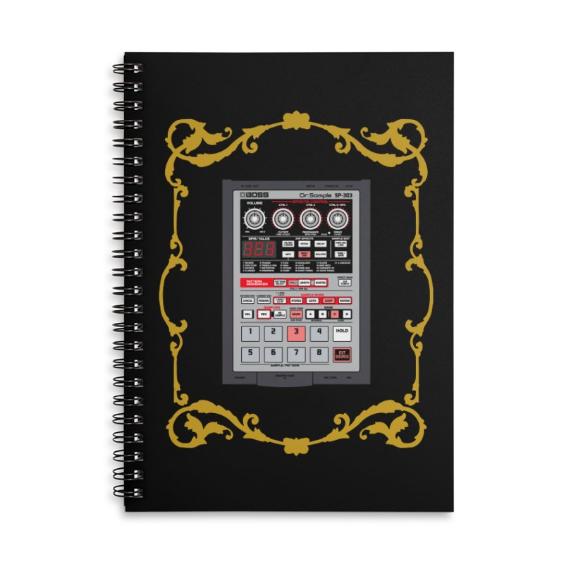 SP303 Accessories Lined Spiral Notebook by Animalanima Shop