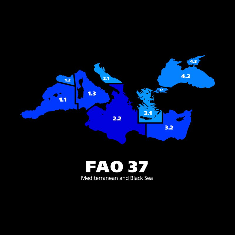 Mediterranean - FAO37 by Animalanima Shop