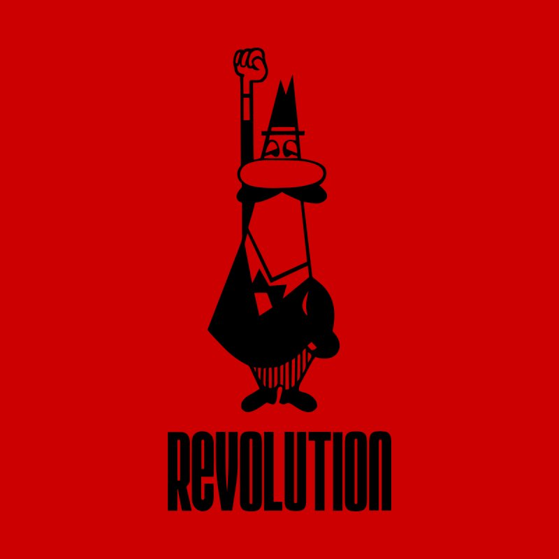 A revolution always starts with coffee Men's T-Shirt by Animalanima