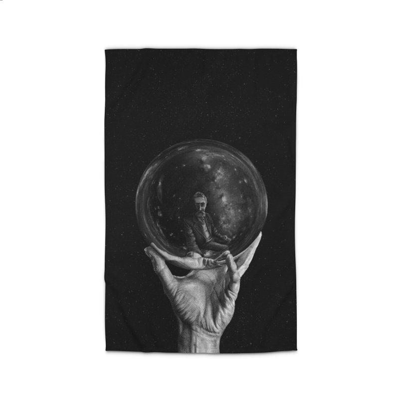 When Escher watched Interstellar Home Rug by Animalanima Shop