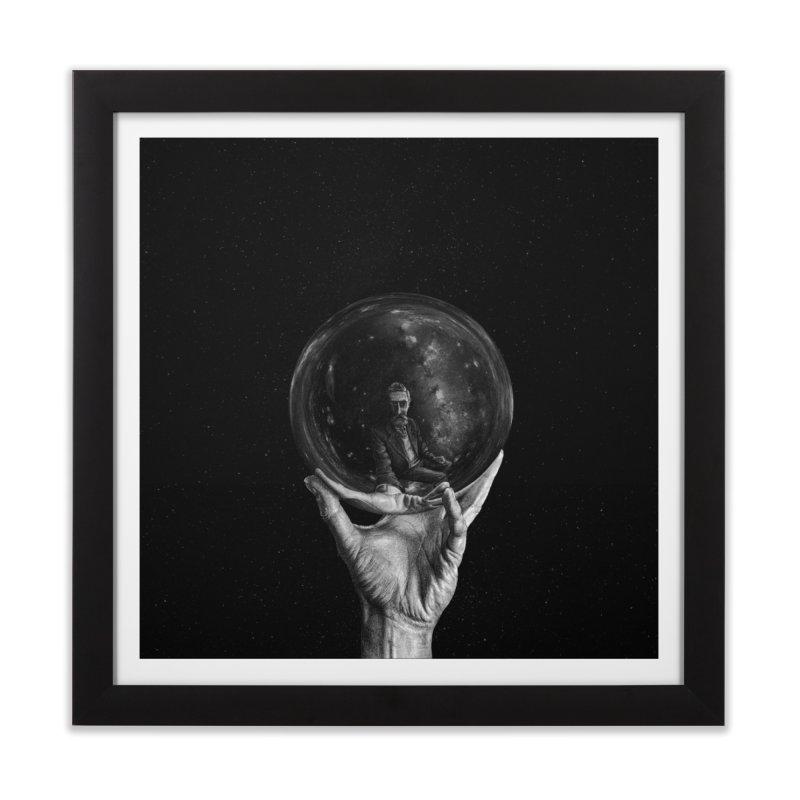 When Escher watched Interstellar Home Framed Fine Art Print by Animalanima Shop