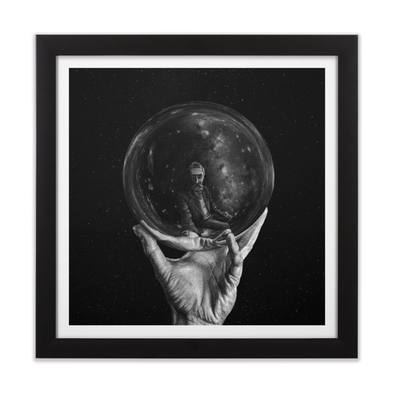 When Escher watched Interstellar Home Framed Fine Art Print by Animalanima