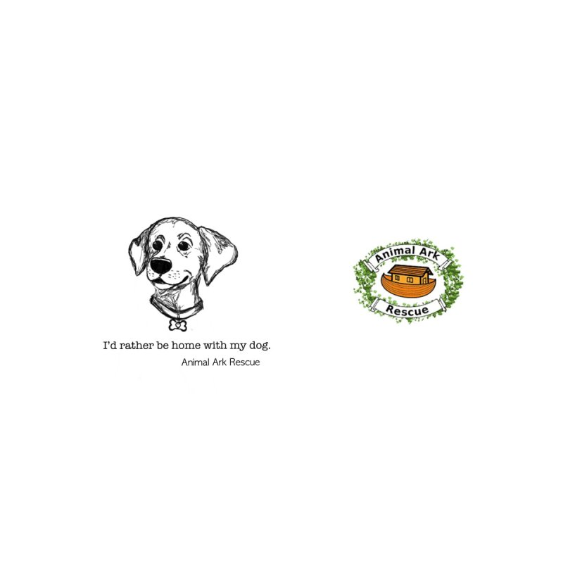 I'd Rather Be Home with My Dog Mug by animalarkrescue's Artist Shop
