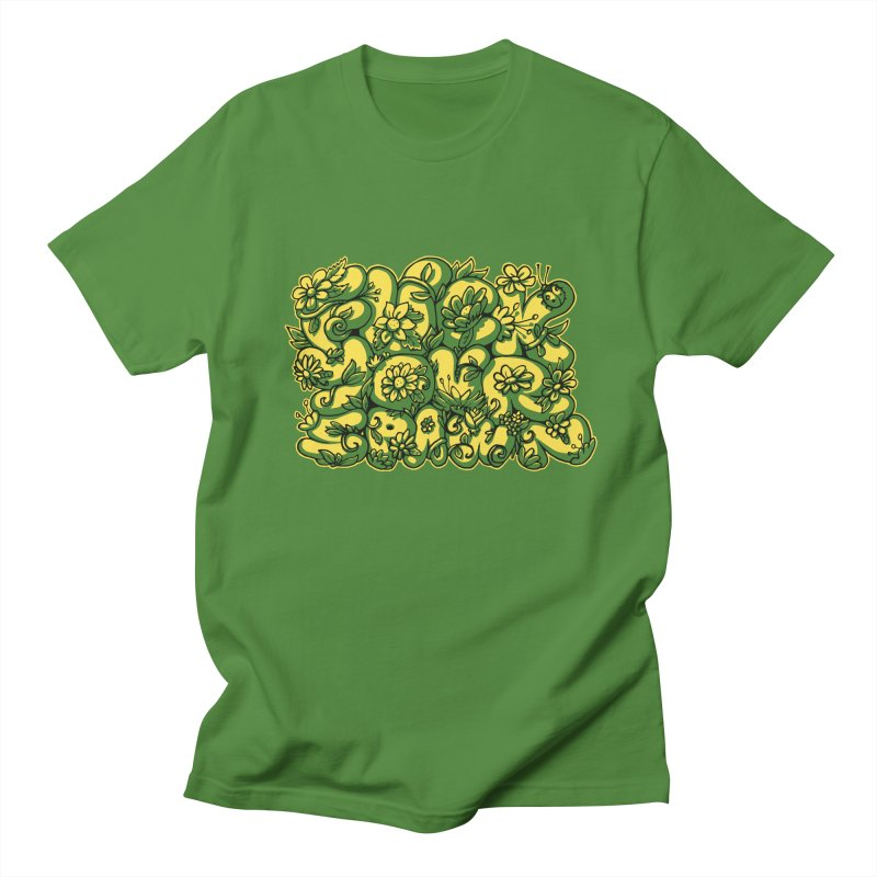 Sweet Sentiment in Men's Regular T-Shirt Clover by AnimalBro's Artist Shop