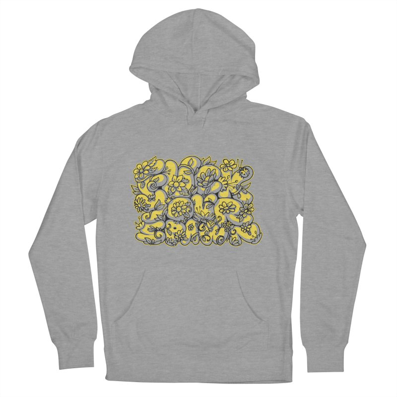 Sweet Sentiment Women's French Terry Pullover Hoody by AnimalBro's Artist Shop