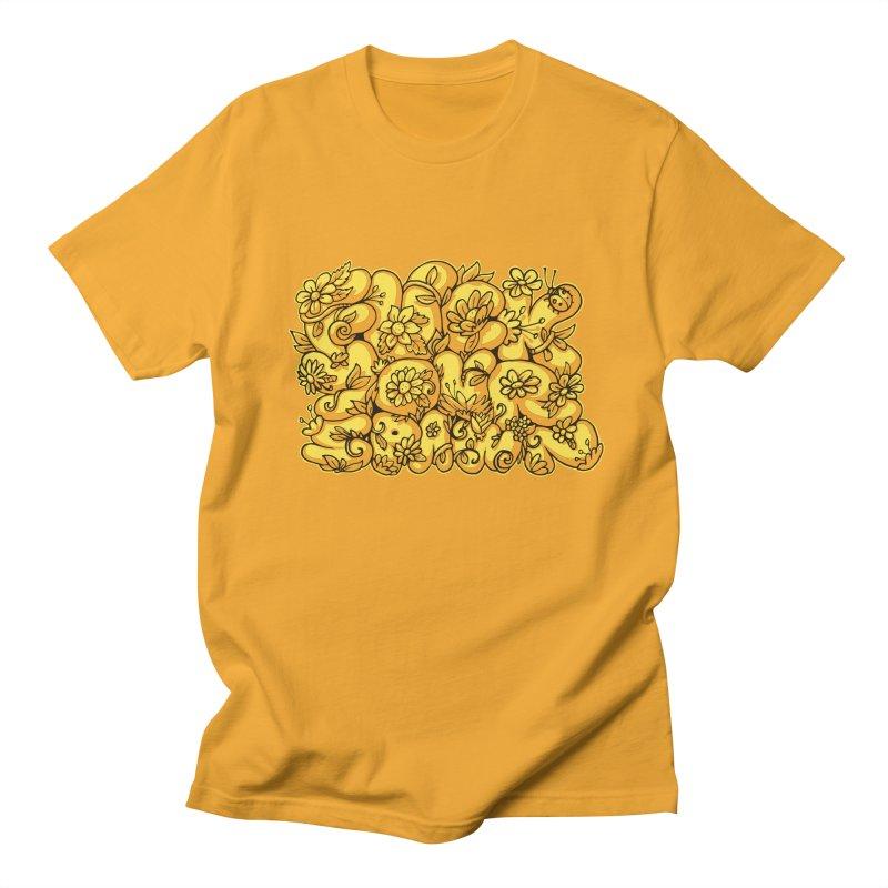 Sweet Sentiment Men's T-shirt by AnimalBro's Artist Shop
