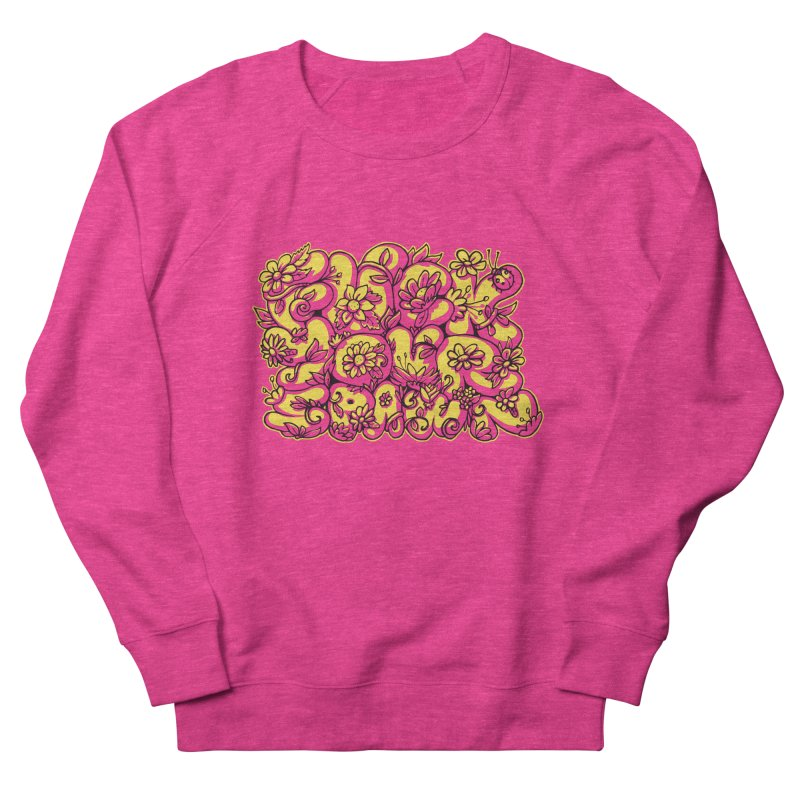 Sweet Sentiment Men's French Terry Sweatshirt by AnimalBro's Artist Shop