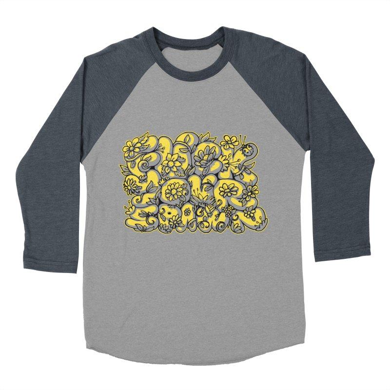 Sweet Sentiment Men's Baseball Triblend T-Shirt by AnimalBro's Artist Shop